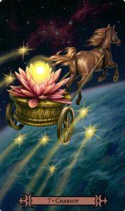 7 Аркан Колесница Modern Spellcaster's Tarot