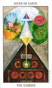 7 Земли Tarot of the Spirit