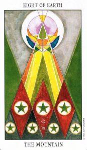 8 Земли Tarot of the Spirit