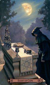 8 Кубков Modern Spellcaster's Tarot