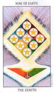 9 Земли Tarot of the Spirit