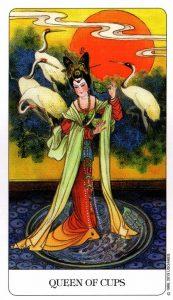 Королева Кубков Chinese Tarot Китайское Таро