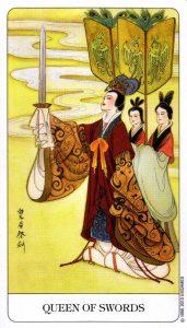 Королева Мечей Chinese Tarot Китайское Таро