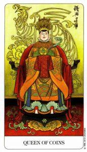 Королева Монет Chinese Tarot Китайское Таро
