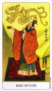 Король Кубков Chinese Tarot Китайское Таро