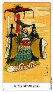 Король Мечей Chinese Tarot Китайское Таро