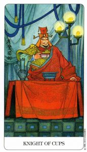 Рыцарь Кубков Chinese Tarot Китайское Таро