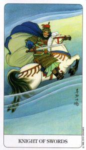 Рыцарь Мечей Chinese Tarot Китайское Таро