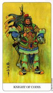 Рыцарь Монет Chinese Tarot Китайское Таро