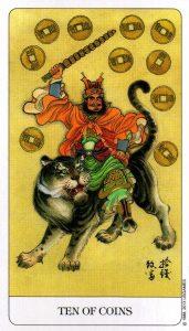 10 Монет Chinese Tarot Китайское Таро
