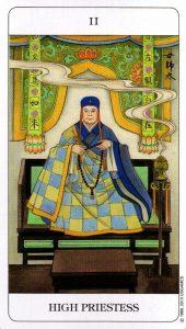 2 Верховная Жрица Chinese Tarot Deck Китайское Таро