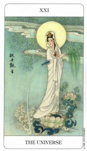 21 Вселенная Chinese Tarot Deck Китайское Таро