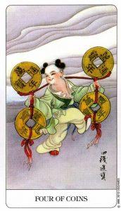 4 Монет Chinese Tarot Китайское Таро
