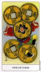 5 Монет Chinese Tarot Китайское Таро