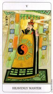 5 Небесный Мастер Chinese Tarot Deck Китайское Таро