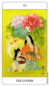 6 Влюбленные Chinese Tarot Deck Китайское Таро