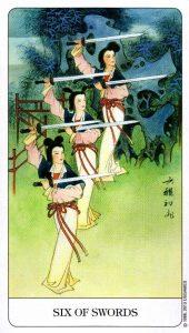 6 Мечей Chinese Tarot Китайское Таро