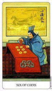 6 Монет Chinese Tarot Китайское Таро