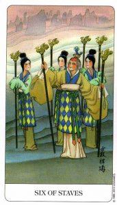6 Посохов Chinese Tarot Китайское Таро