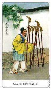 7 Посохов Chinese Tarot Китайское Таро