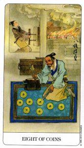 8 Монет Chinese Tarot Китайское Таро