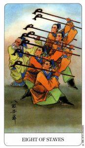 8 Посохов Chinese Tarot Китайское Таро