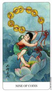 9 Монет Chinese Tarot Китайское Таро
