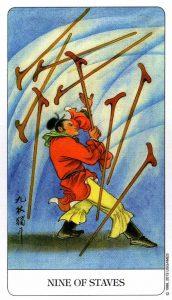 9 Посохов Chinese Tarot Китайское Таро
