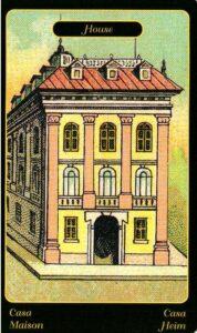 2. Дом Цыганский Оракул Sibilla Della Zingara