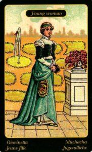 38. Юная женщина Цыганский Оракул Sibilla Della Zingara