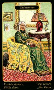 41. Старая дама Цыганский Оракул Sibilla Della Zingara