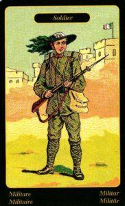 49. Солдат Цыганский Оракул Sibilla Della Zingara