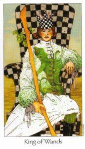 14 Король Жезлов Таро Путь Сновидений Dreaming Way Tarot