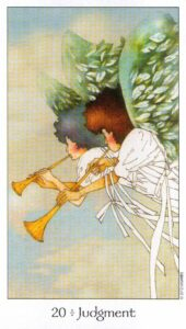 20 Аркан Суд Таро Путь Сновидений Dreaming Way Tarot