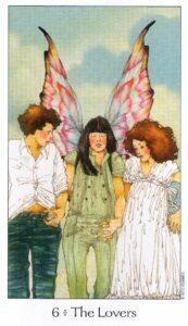 6 Аркан Влюбленные Таро Путь Сновидений Dreaming Way Tarot