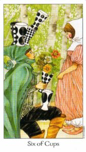 6 Кубков Таро Путь Сновидений Dreaming Way Tarot