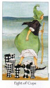 8 Кубков Таро Путь Сновидений Dreaming Way Tarot