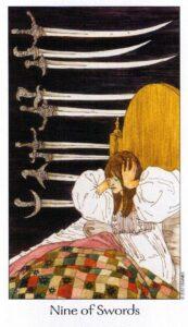 9 Мечей Таро Путь Сновидений Dreaming Way Tarot