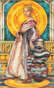 Таро Мистика Витражей Crystal Tarot Elisabetta Trevisan - галерея колоды, видео-обзор, ссылки для покупки карт