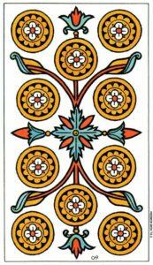 10 Монет Марсельское Таро Tarot de Marseille Convos
