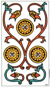 3 Монет Марсельское Таро Tarot de Marseille Convos